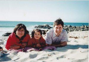 Gilda Espinoza, Paula y Alvaro Suazo