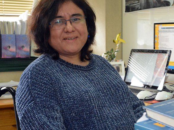 Gilda Espinoza Valenzuela: Luchando contra la adversidad
